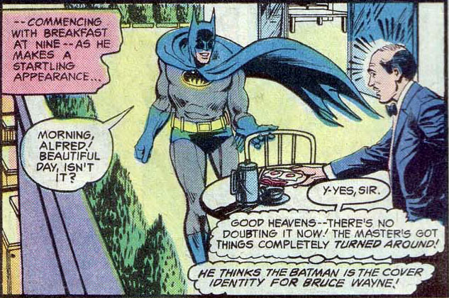 batman breakfast comic