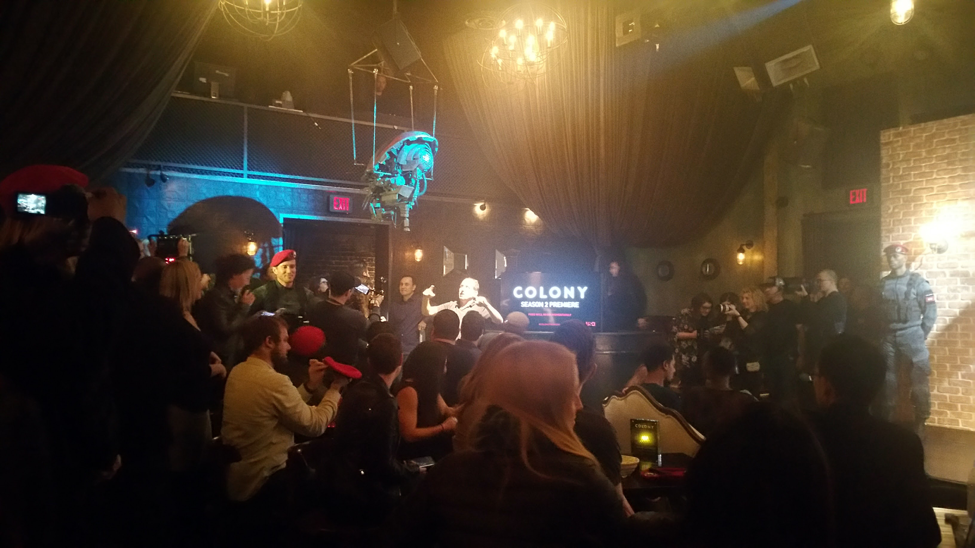 Premiere Party Brings A Bit of 'Colony' To Life
