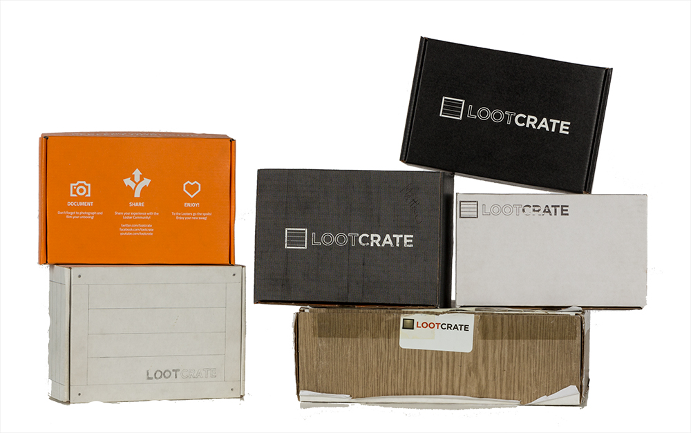 Loot Crate: A History of Our Early Designs