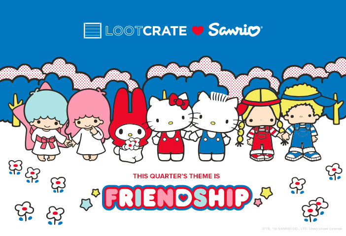 Sanrio Small Gift Crate: Who's Who of 'Friendship'
