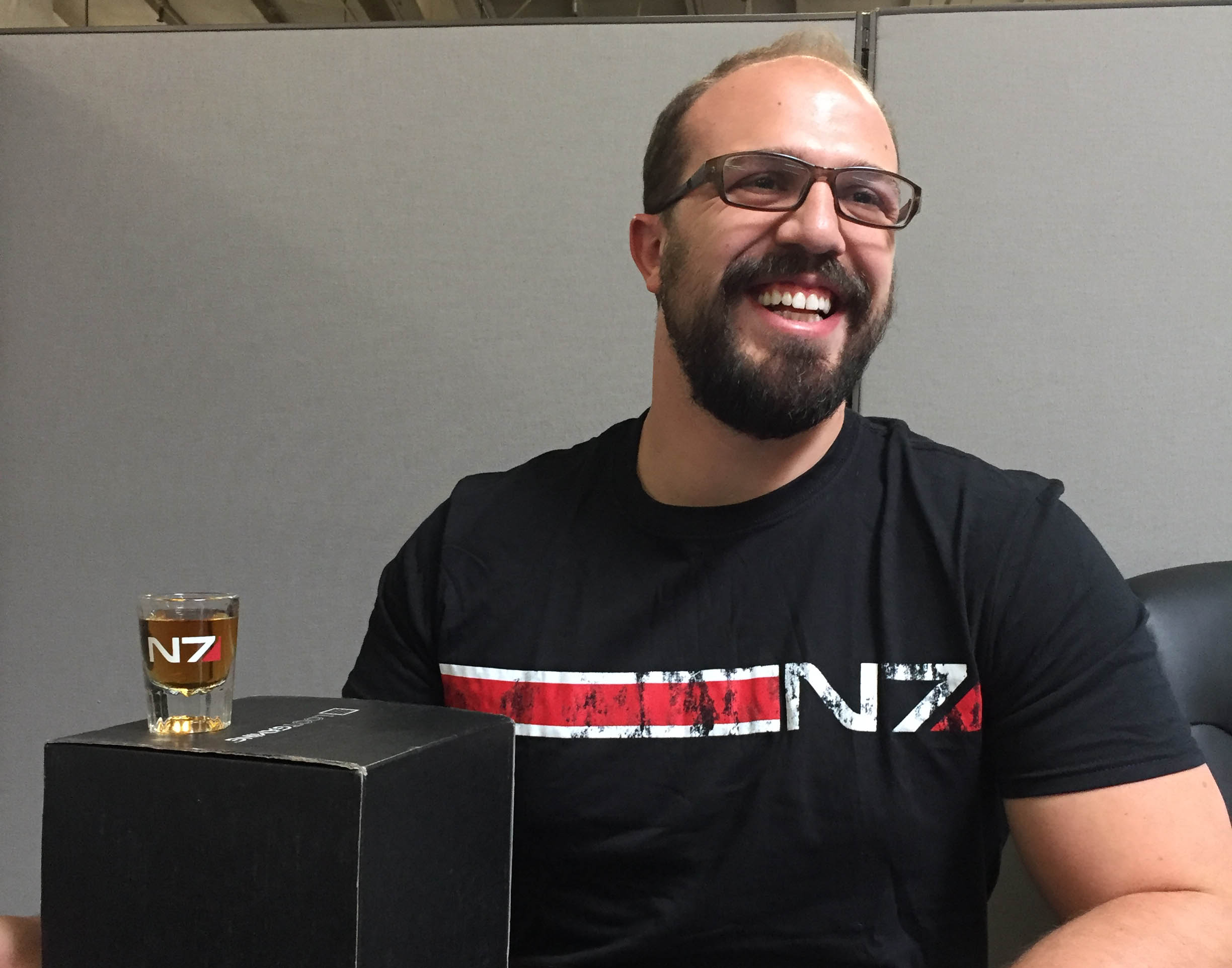 Behind the Crate: Mass Effect: Andromeda Q and A with Wes Citti!