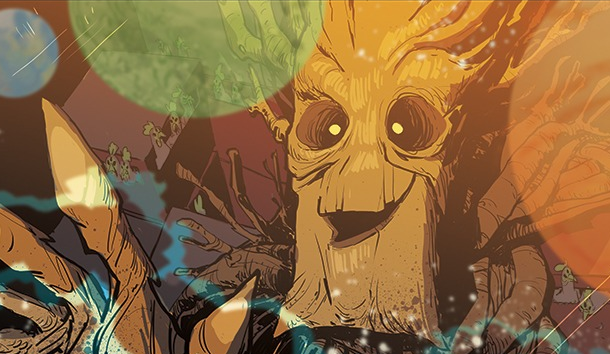 Exclusive: Interview with 'Groot' Comic Artist Brian Kesinger!