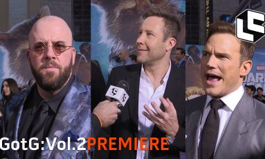 VIDEO: Extended Guardians of the Galaxy Red Carpet Footage!