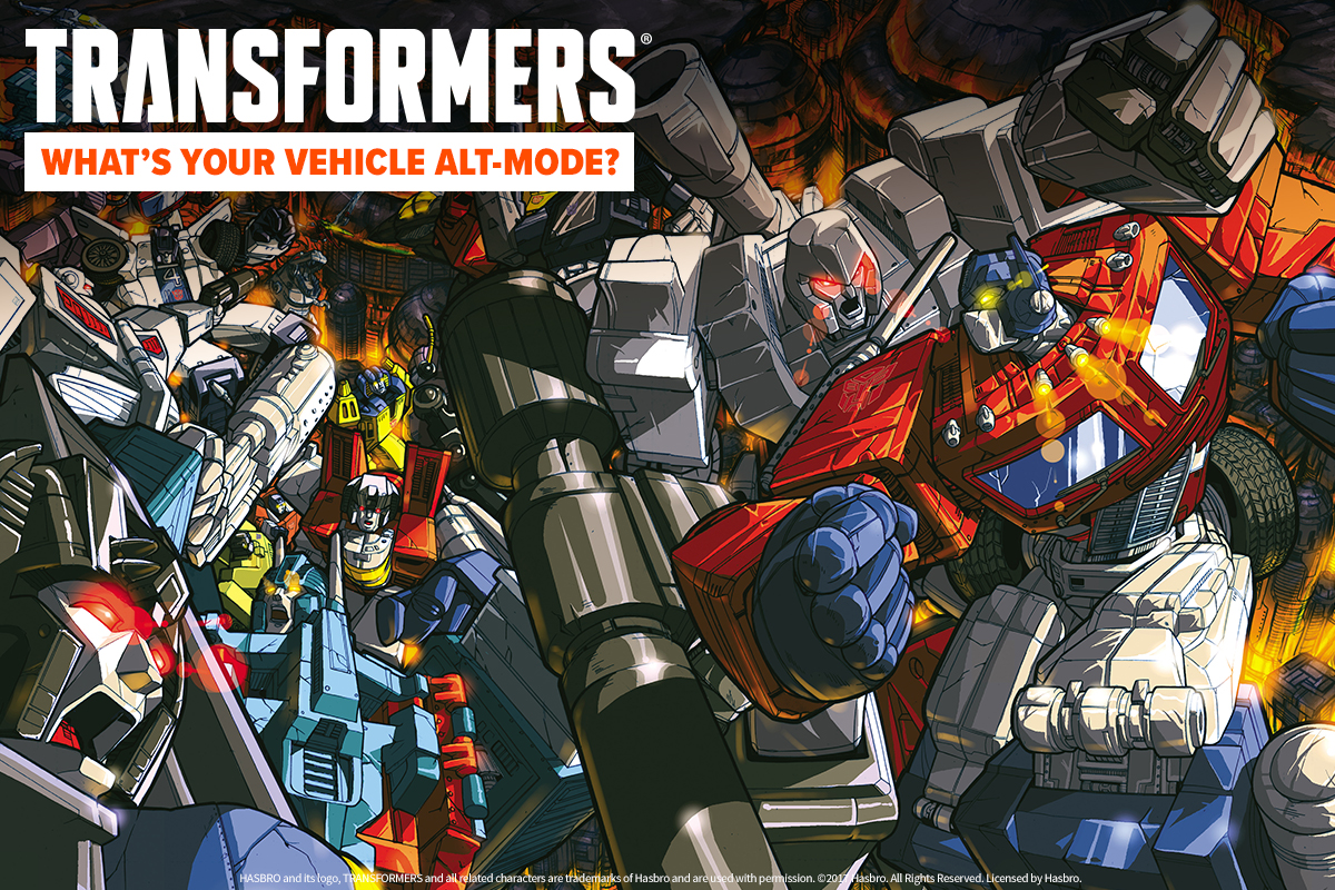 Loot Quiz: What's Your Transformers Vehicle Mode?