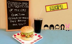 Burger Of the Month!: 'Guac'cha Gonna Do When They Bacon for You'