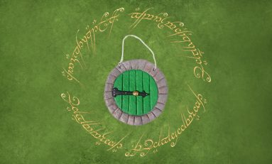 DIY: One Hobbit-Hole Door Ornament to Rule Them All