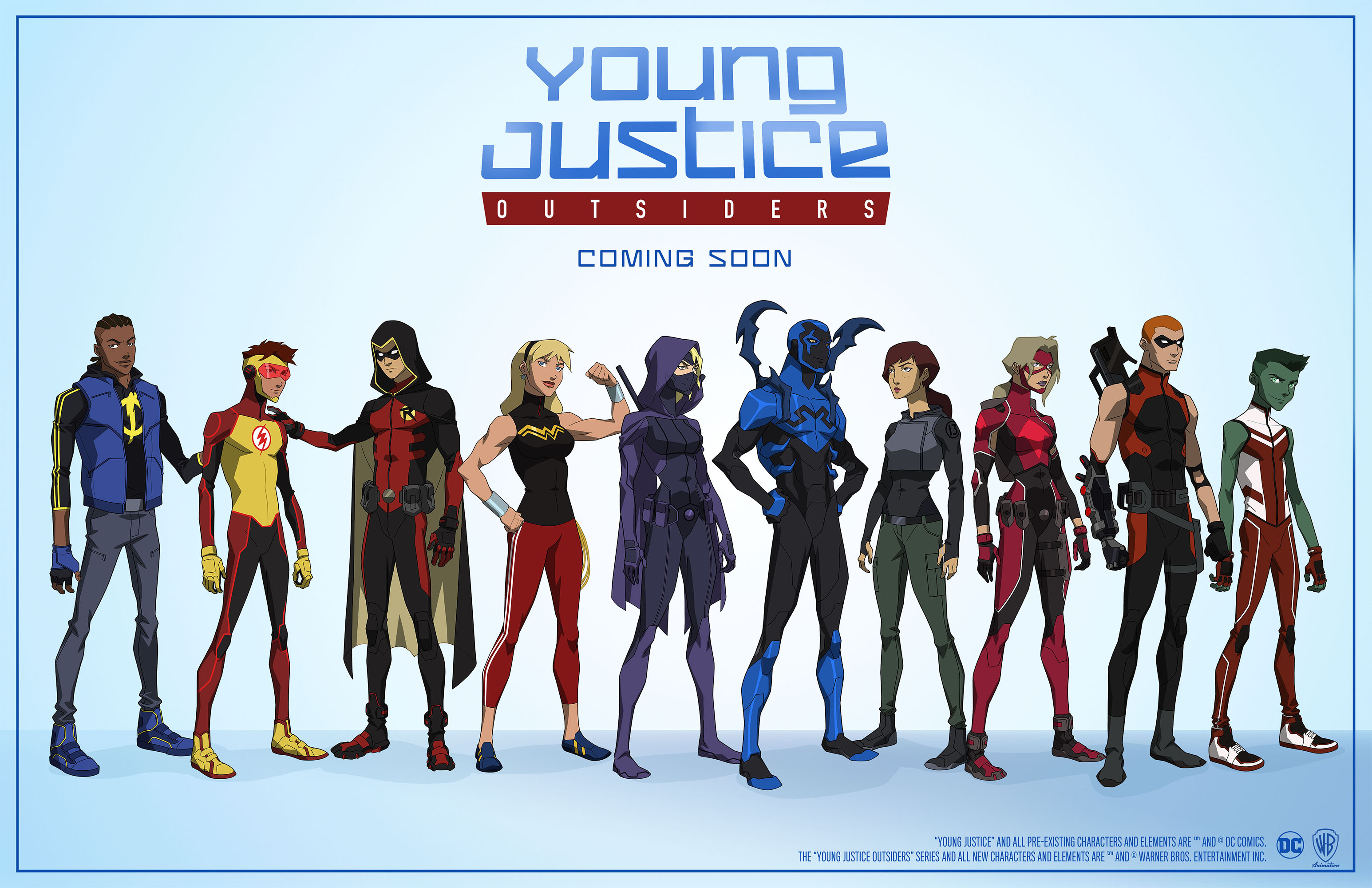 'Young Justice: Outsiders' Creative Team Discuss Revival at #SDCC