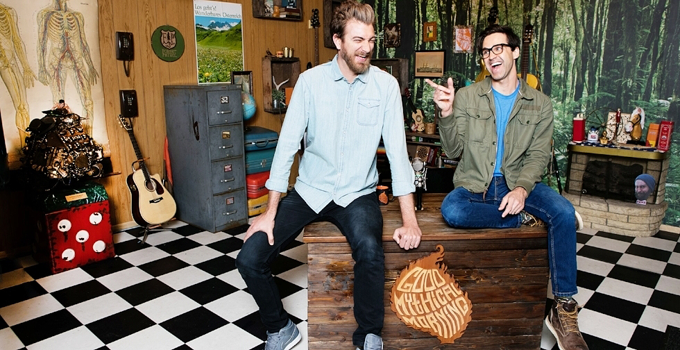 Exclusive: Rhett and Link's Book of Mythicality Tour!