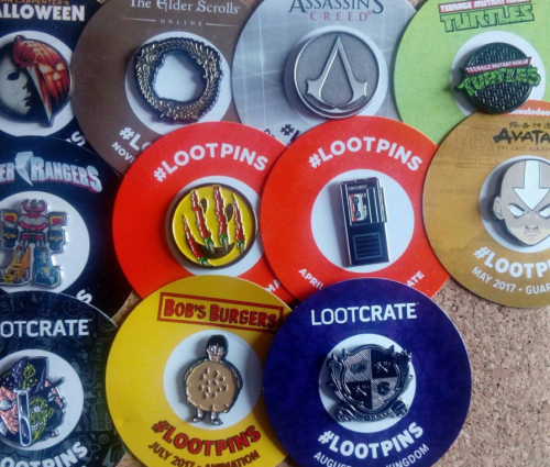 Looter Love: Loot Crate Pins of Pride!