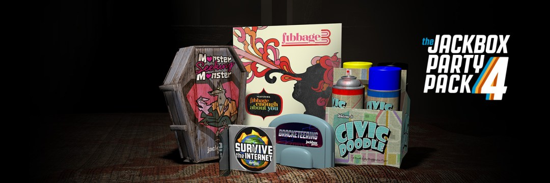 Gaming: The Jackbox Games Party Pack 4! Get Your Friends! Quick!
