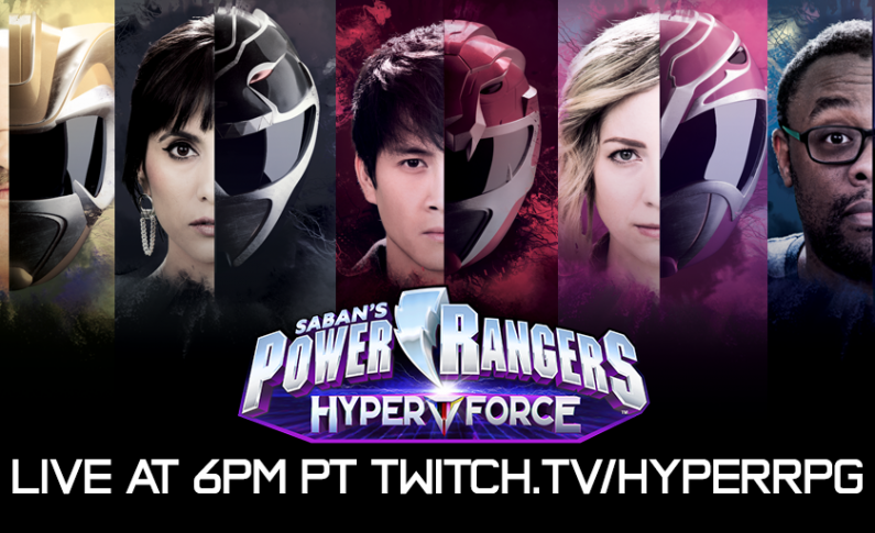 Tune In Tonight For 'Power Rangers Hyper Force'!