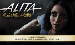 Alita: Battle Angel Pillars of Iron City Search at SDCC!