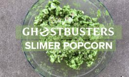 Looter Recipe: Ghostbusters Slimer Popcorn