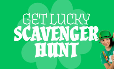 "Enter Our ""Get Lucky"" Scavenger Hunt!"