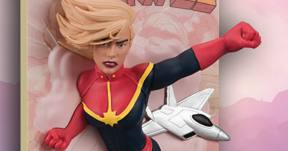 Behind the Crate: Creating the Captain Marvel Comic Standee