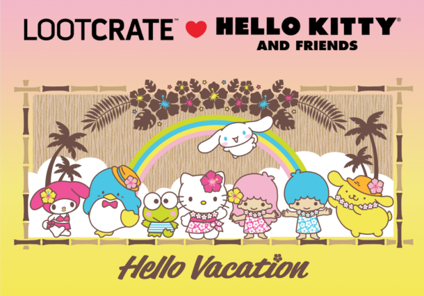 THEME REVEAL: Check Out The Newest Themes for Deadpool Club Merc And The Hello Kitty Crate!