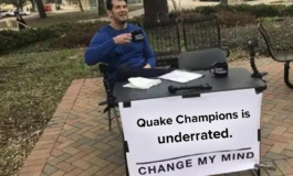 GAMING: Quake Champions is Underrated Change My Mind