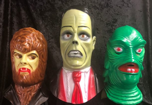 Interview with Universal Monster Masks Sculptor Mark Enright