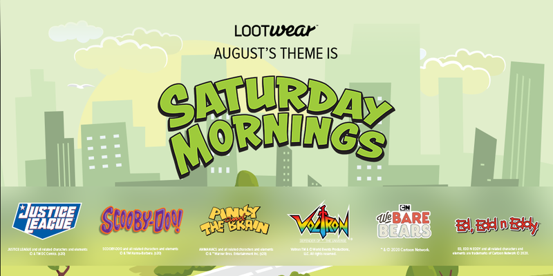 THEME REVEAL: New Themes for Loot Crate, Loot Crate DX, and Loot Wear!