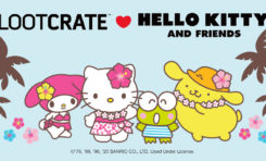 "LOOT CRATE LOVE: Hello Kitty and Friends ""Hello Vacation"" Crate!!!"