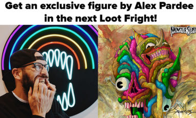 Exclusive Interview with Loot Fright Artist Alex Pardee