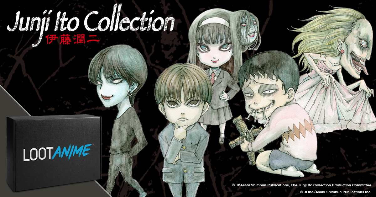 """ANIME: Let's Talk Loot Anime's """"Undead"""" October Crate!!!"""