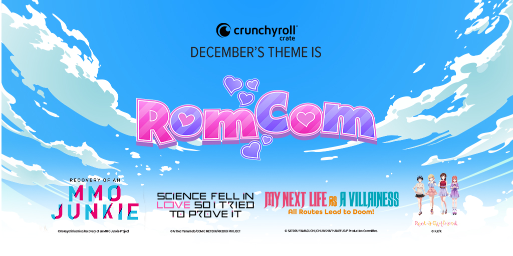 "CRUNCHYROLL CRATE: Let's Talk About Our ""ROMCOM"" Crate!"