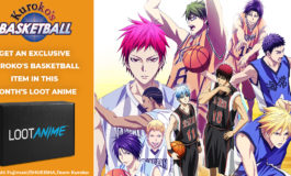 "ANIME: Introducing Loot Anime (SOLD OUT) December's ""SPORT"" Crate!"