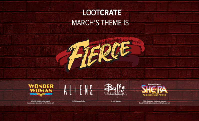 THEME REVEAL: Feel FIERCE With Loot Crate, Loot Crate DX, Loot Wear