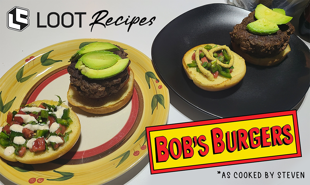 Looter Recipe: The Lazy Guac Burger