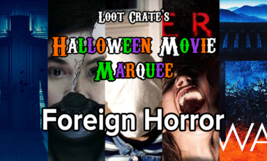 Halloween Movie Marquee: Foreign Horror