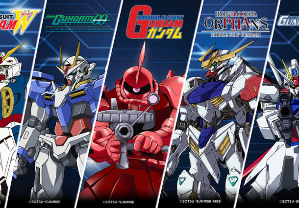 5 Mobile Suits In The Capsule Collection